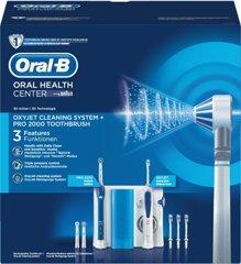 Oral-B Center OxyJet Reinigungssystem Munddusche+P