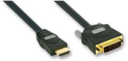 Goldkabel HDMI auf DVI-D 20m