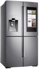 Samsung RF56M9540SR/EF Side-by-Side - Edelstahl,Familiy HUB EEK:A+
