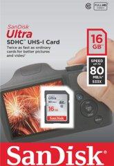 Sandisk Ultra SDHC 16GB 80MB/s UHS-I
