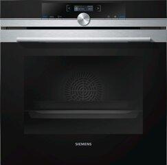 Siemens Backofen HB674GBS1, 71L, TFT-Display, aciveClean, 300°C