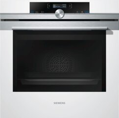 Siemens Backofen HB674GBW1, 71L, softMove, 4D-Heißluft, 300°C