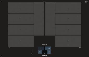 Siemens Flex-Induktions-Kochfeld EX801KYW1E, 4 Kochzonen, 80cm breit