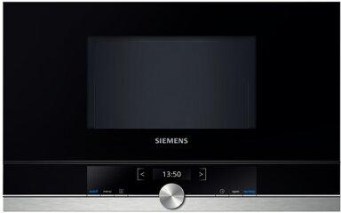 Siemens Mikrowelle BF634LGS1, 900W, 21l