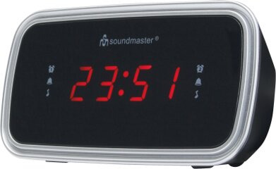 Soundmaster UR106SW UKW-PLL Uhrenradio