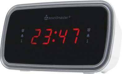 Soundmaster UR106WE UKW-PLL Uhrenradio