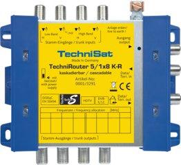 Technisat TechniRouter 5/1x8 K-R