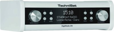 Technisat DigitRadio 20 Radiowecker, 3W, 230 V