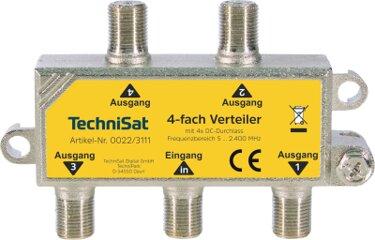 Technisat 4-Wege Verteiler 4x DC
