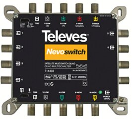 Televes MS56NCQ Nevoswitch