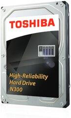 Toshiba N300 6TB NAS High-Reliability Hard Drive