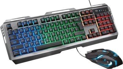 Trust GXT 845 Tural Gaming Combo DE