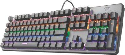 Trust GXT 865 Asta Mechanical Keyboard DE