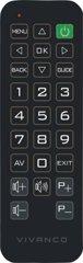 Vivanco RR Z 140 Zapper Ersatz FB f. Sony