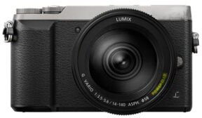 Panasonic Lumix DMC-GX80 + FS14-140mm 4K UHD Schwarz/Silber