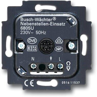 Busch-Jaeger Busch-Wächter® Nebenstellen-Einsatz 6805 U | 6800-0-1468