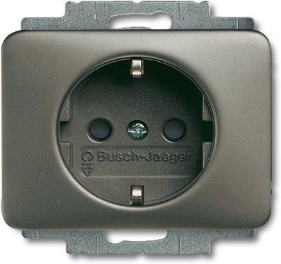 Busch-Jaeger SCHUKO® Steckdosen-Einsatz 20 EUC-20 | 2011-0-1417