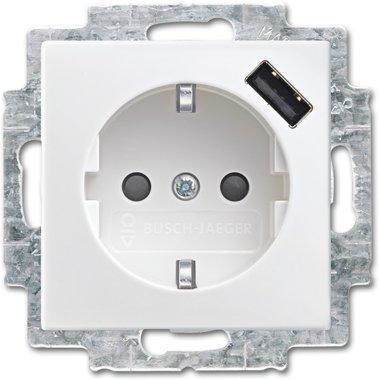 Busch-Jaeger SCHUKO® USB-Steckdose 20 EUCBUSB-914 | 2011-0-6237