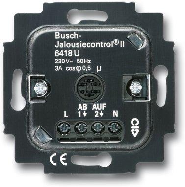 Busch-Jaeger Jalousie-Basis-Einsatz 6418 U | 6410-0-0375