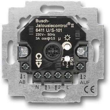 Busch-Jaeger Busch-Jalousiecontrol® II-Einsatz 6411 U/S-101 | 6410-0-0379