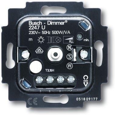 Busch-Jaeger Busch-Drehdimmer 2247 U | 6512-0-0057