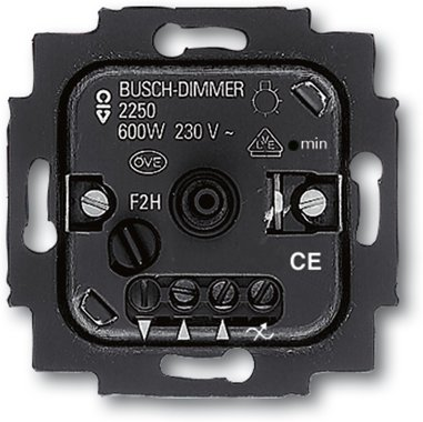 Busch-Jaeger Busch-Drehdimmer 2250 U | 6515-0-0704