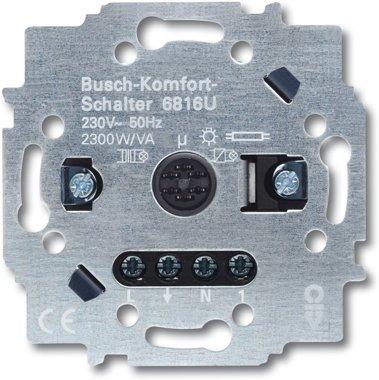 Busch-Jaeger Busch-Komfortschalter® Relais-Einsatz 6816 U | 6800-0-2355