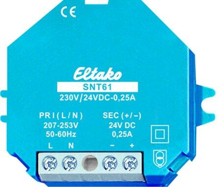 Eltako Schaltnetzteil 230V/24V DC-0,25A