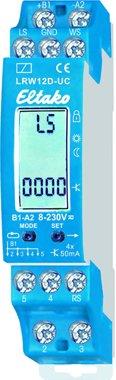 Eltako Licht-Dämmerungs-Regen-Wind-Sensorrelais, 4 OptoMOS-Halbleiterausgänge 50mA/8..230V UC