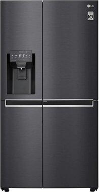 LG Kühlschrank Side by Side mit Wassertank, Door in Door - american Kühlschrank LG