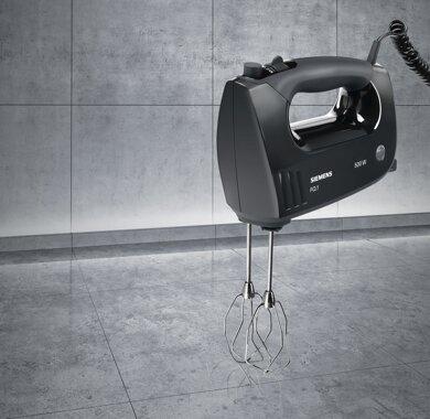 500 Watt SIEMENS MQ 96500 Handmixer Schwarz//Grau