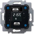 Busch-Jaeger Raumtemperaturregler/Heizungsaktor, Wireless 6224/2.1-WL