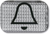 Busch-Jaeger Tastersymbol, transparent 2145 KI, glasklar