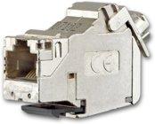 Busch-Jaeger Universalmodul, RJ45, Cat. 6A iso, geschirmt 0219-101