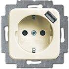 Busch-Jaeger SCHUKO® USB-Steckdose 20 EUCBUSB-212, weiß