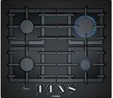 Bosch PPP6A6B90 Einbau Kochfeld Gas 60cm Autark Glas Kochfeld schwarz