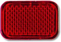 Busch-Jaeger 2145-12 Tastersymbol, transparent rot