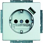 Busch-Jaeger SCHUKO® USB-Steckdose 20 EUCBUSB-83, alusilber