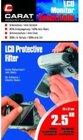 Carat 2,5 Zoll LCD Display Schutzfolie, Kratzschutz