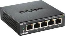 D-Link DGS-105D/E 5-Port Gigabit Switch