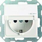 Gira 0454600 SCHUKO KD System 55 Edelstahl