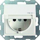 Gira 0453600 SCHUKO SH System 55 Edelstahl