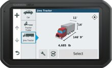 Garmin dezl 780 LMT-D GPS-LKW-Navigationsgerät