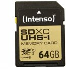 Intenso SD-Card 64GB SDXC UHS-I