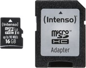 Intenso 16GB Micro SD Class 10, UHS-1 Professional