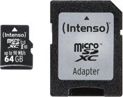 Intenso 64GB Micro SD Class 10, UHS-1 Professional