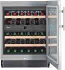 Liebherr UWTes 1672 Vinidor, Flaschen Einbau-Weinkühlschrank, Silber