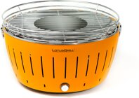LotusGrill G280  Mandarinenorange,  Rauchfreier Tisch - Holzkohle Grill