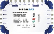 Megasat Multiswitch 9/8