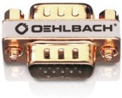 Oehlbach VGA Adapter/Verbindung Buchse /Gold